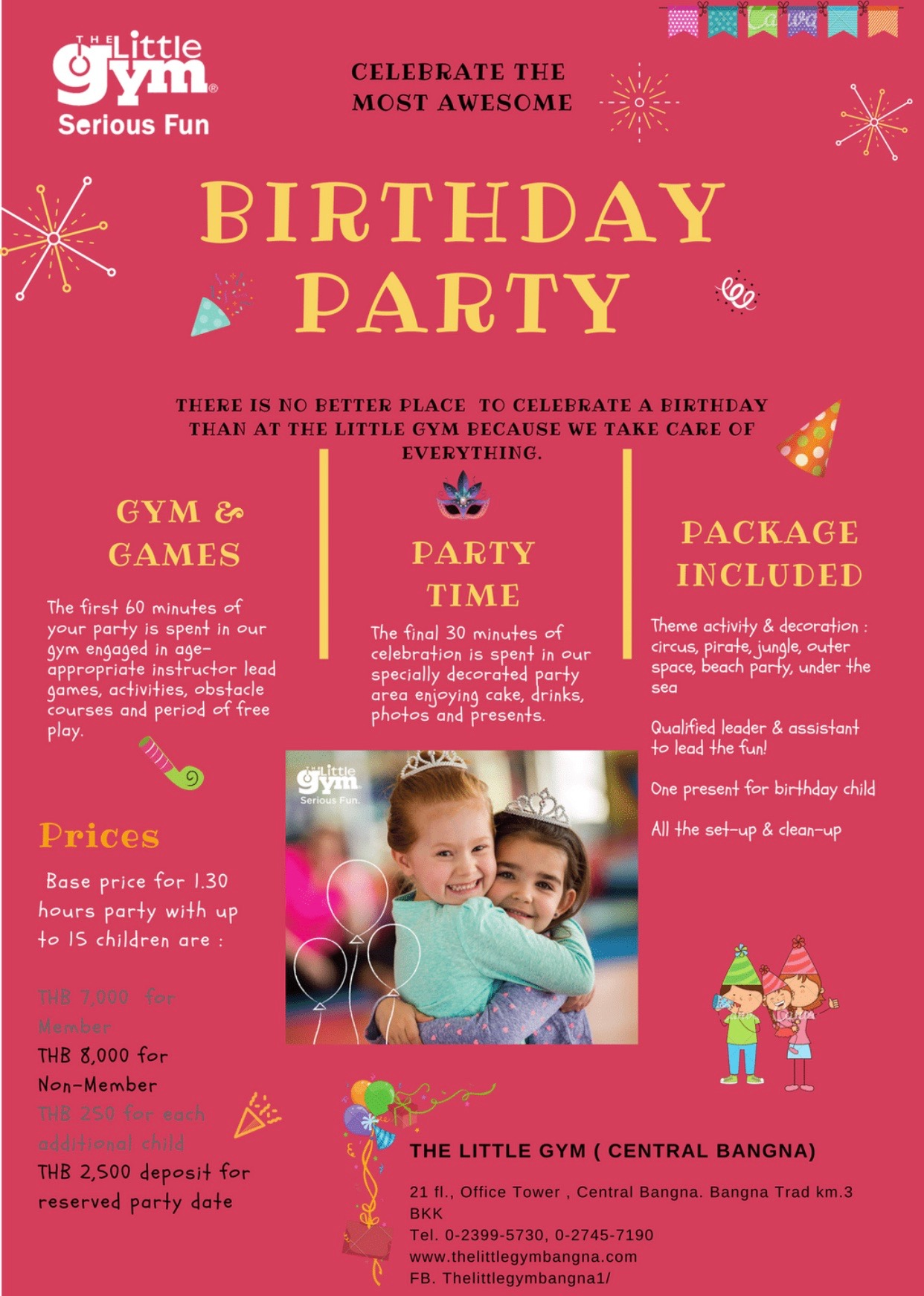 The Little Gym Birthday Party